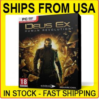 Deus EX Human Revolution PC 2011 Boxed DVD