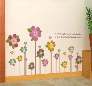 Poem DIY Wall Vinyl Decorative Sticker Mural Decals Bedroom Home Decor