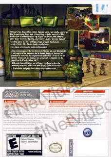 Army Men Soldiers of Misfortune New Nintendo Wii