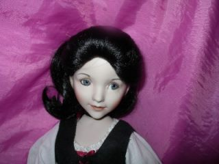 diana effner snow white porcelain doll ashton drake nib