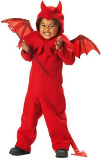 Lil Spitfire Devil Halloween Baby Toddler Boys Costume L