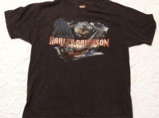 Harley Davidson Eagle T Shirt Barnett El Paso Texas L