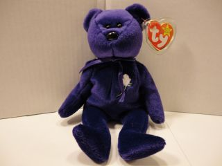 Princess Diana Bear 1997 1st Edition China P E Pellets Tags