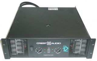 crest audio ca12 power amplifier amp ca 12 incredible condition