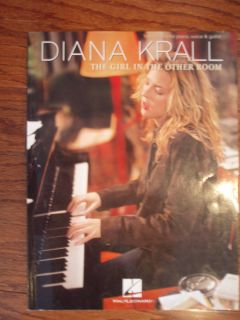 Diana Krall Girl in the Other Room Piano Sheet Music Song Book