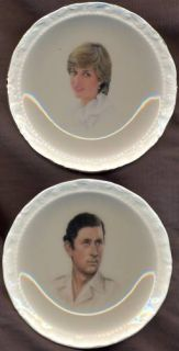 Princess Diana Prince Charles royal wedding Royal Albert pair china