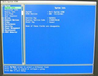 Dell Dimension 4700 Intel Pentium 4 2 80GHz 1GB 800MHz DDR2 40GB HDD