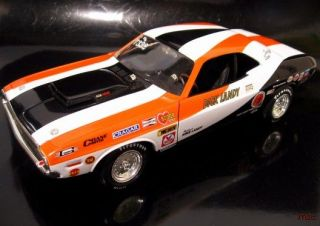 Dick LANDY 1970 Dodge Challenger dragster   1:18
