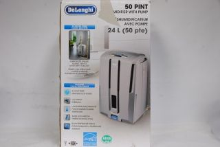 DeLonghi Model DD50P Energy Star 50 pints Dehumidifier