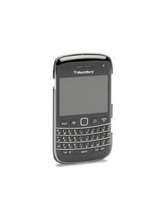 Dicota Black Weave Hard Cover Case for Blackberry Bold 9790