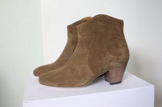 Fall 2012 Isabel Marant Dicker Boots Kaki Khaki Size 39