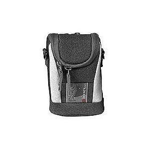 Delsey GOPIX15 Canon PowerShot Digital Camera Bag Case Black Gray