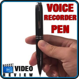 142 Hour Digital Voice Recorder Pen Audio Spy Recording