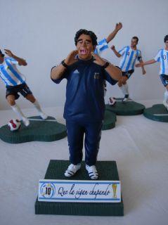 MARADONA Diego Armando Coach 2010 World Cup FIFA Germany Boca Juniors