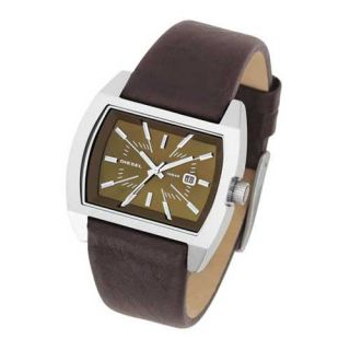 Diesel Analog Leather Strap Womens Wrist Watches DZ5103