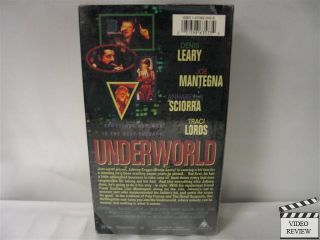 Underworld VHS Denis Leary Joe Mantegna Traci Lords 031398635734