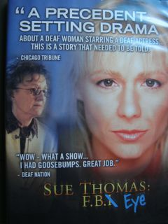 Emmy DVD 2EPISODE Deaf Detective Deanne Bray Phyllis Frelich