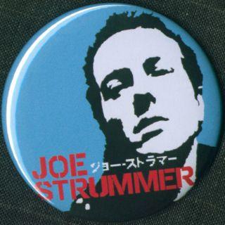 Joe Strummer 1 25 Pin Button Badge Magnet Punk Clash