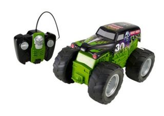 New Hot Wheels RC Monster Jam Grave Digger Vehicle Remote Controlled