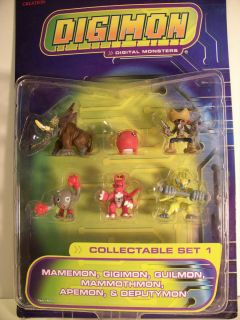 Digimon Monsters Collectible Figure Set 1