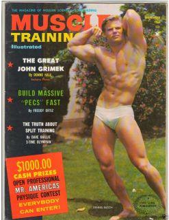 Bodybuilding Fitness Magazine Dennis Busch John Grimek 11 66