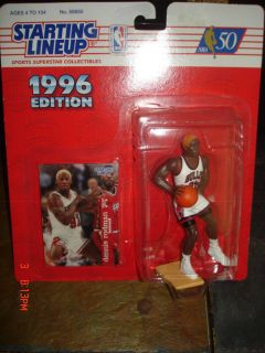 Dennis Rodman 1996 SLU Orange Hair Figure Bulls New