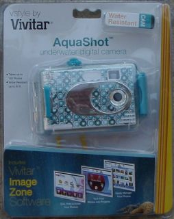 Vivitar Aquashot Underwater Digital Camera