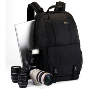 New Lowepro Fastpack 350 Black Camera Digital Camera DSLR Bag Backpack