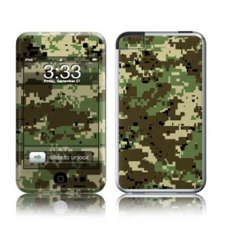 iPod Touch Skin 1st Generation Case Cover Digital Camo