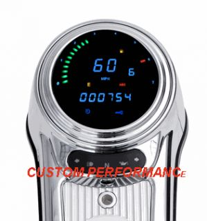 DAKOTA DIGITAL SPEEDOMETER HARLEY Road King SOFTAIL Fat Boy Deuce