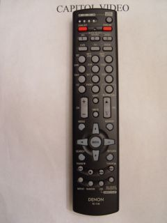 Denon RC 1148 Remote Control Part 307010071007D
