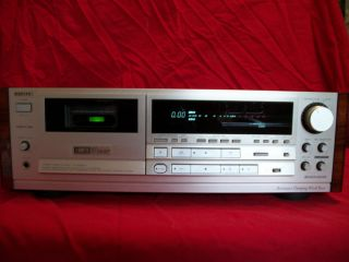 Vintage AIWA XK S9000 Cassette Deck with Digital to Analog VERY NICE