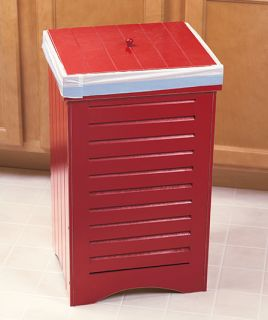 Kitchen Trash Bin Garbage Can in 3 Color Choices Kitchen Home Decor