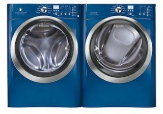 Electrolux Blue Scratch & Dent Steam Washer & Steam Electric Dryer