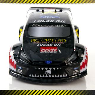 Atomik Metal Mulisha Brian Deegan 1 18th Scale ford Fiesta RC Rally