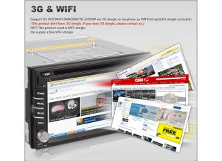 DIN Android 4 0 Car Radio Stereo DVD Player WiFi 3G GPS iPod