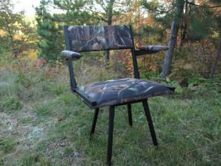 Smithworks Comfortquest Sport Chair Deer Blind Hunting Chair