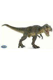 Papo Green Running T Rex Dinosaur Toy Prehistoric Figure 55027 New