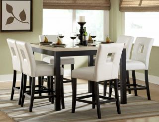 COUNTER HEIGHT DINING TABLE CHAIRS DINING ROOM FURNITURE SET SALE