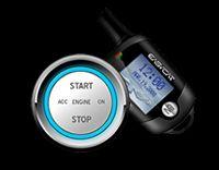 Way E772AS PKE Car Alarm w REMOTE START + KEYLESS ENTRY + PUSH START