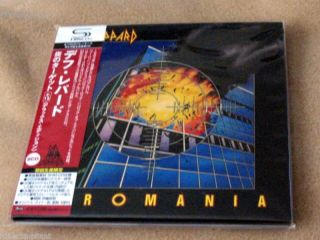 Def Leppard Pyromania Japan Deluxe SHM Mini LP CD 4988005572295