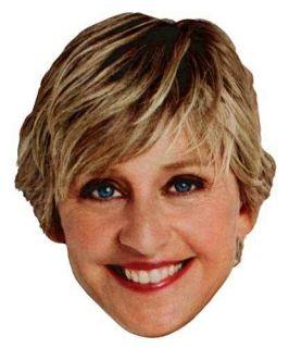 ELLEN DEGENERES The Ellen Show TV Star Full Head Window Cling Sticker