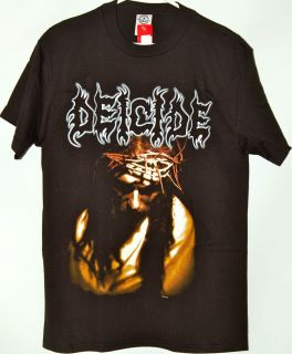 Deicide Scars of The Crucifix Black T Shirt Tee New with Tags