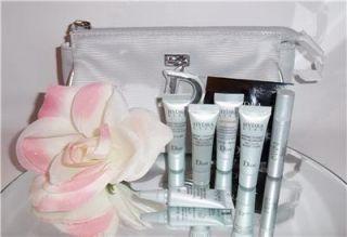 Christian Dior Hydra Life Skin Care Samples 9pc Gift Set Kit Creme Eye