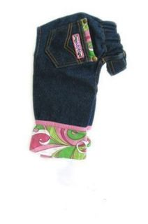 Blue Jeans Camo Pink Pant Quality Top Designer Dog Clothes