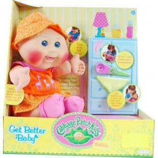 Cabbage Patch Kids   Get Better Baby   Blonde   Delaney Kerri