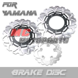 Front Rear Brake Disc Rotor Yamaha FZ1 FZ1N s Fazer 1000 FZS 06 07 08