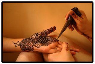 Designer Studio Henna Mehndi Cones Tattoo Kit Body Art Pen Fresh Dark