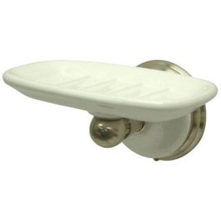 Bathroom Accessory Victorian Soap Dish Satin Nickel
