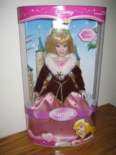 Disney Brass Key Doll Holiday Edition Sleeping Beauty Aurora 13 2006